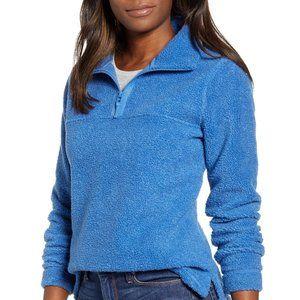 NWT Caslon Quarter Zip Fleece Pullover size XS